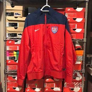 Men's Nike Team USA Soccer Training Jacket NWT
